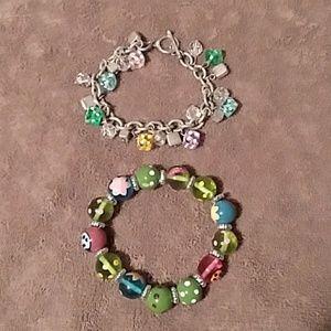 Bundle of two fun bracelets